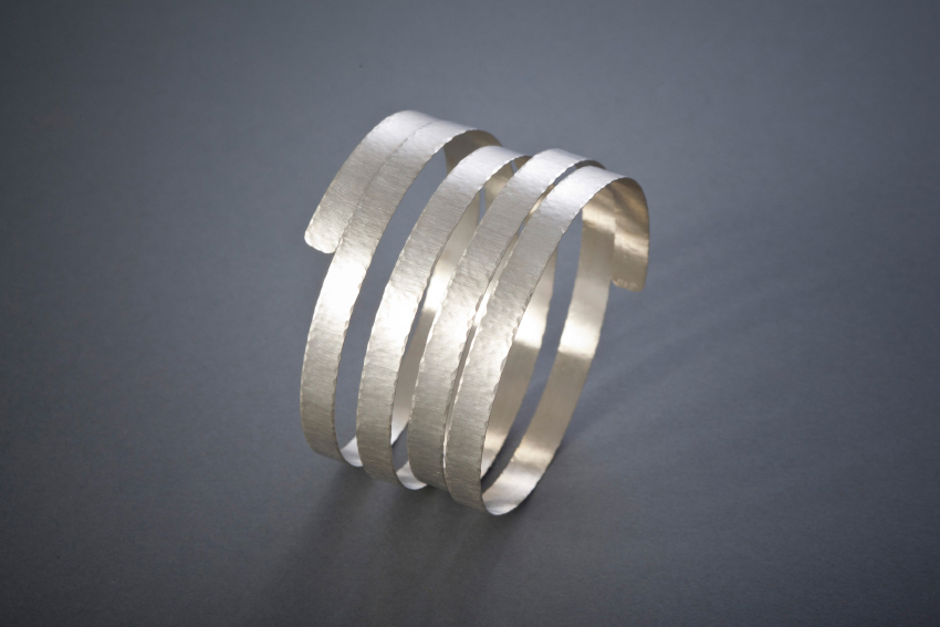 116 Spiralarmreif, Silber, ab € 186,-