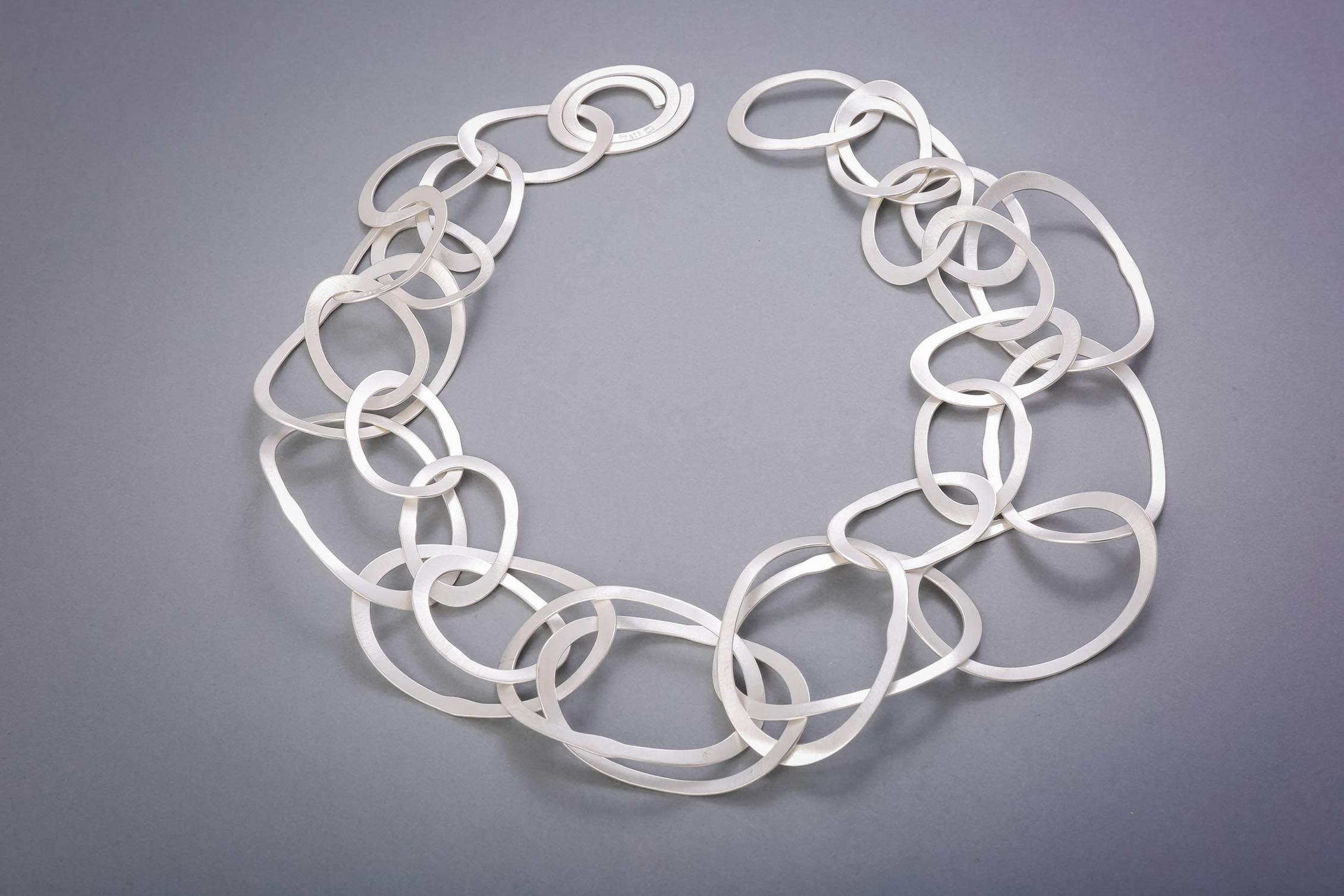 117 Silberkette, handgeschmiedet, ab € 728,-